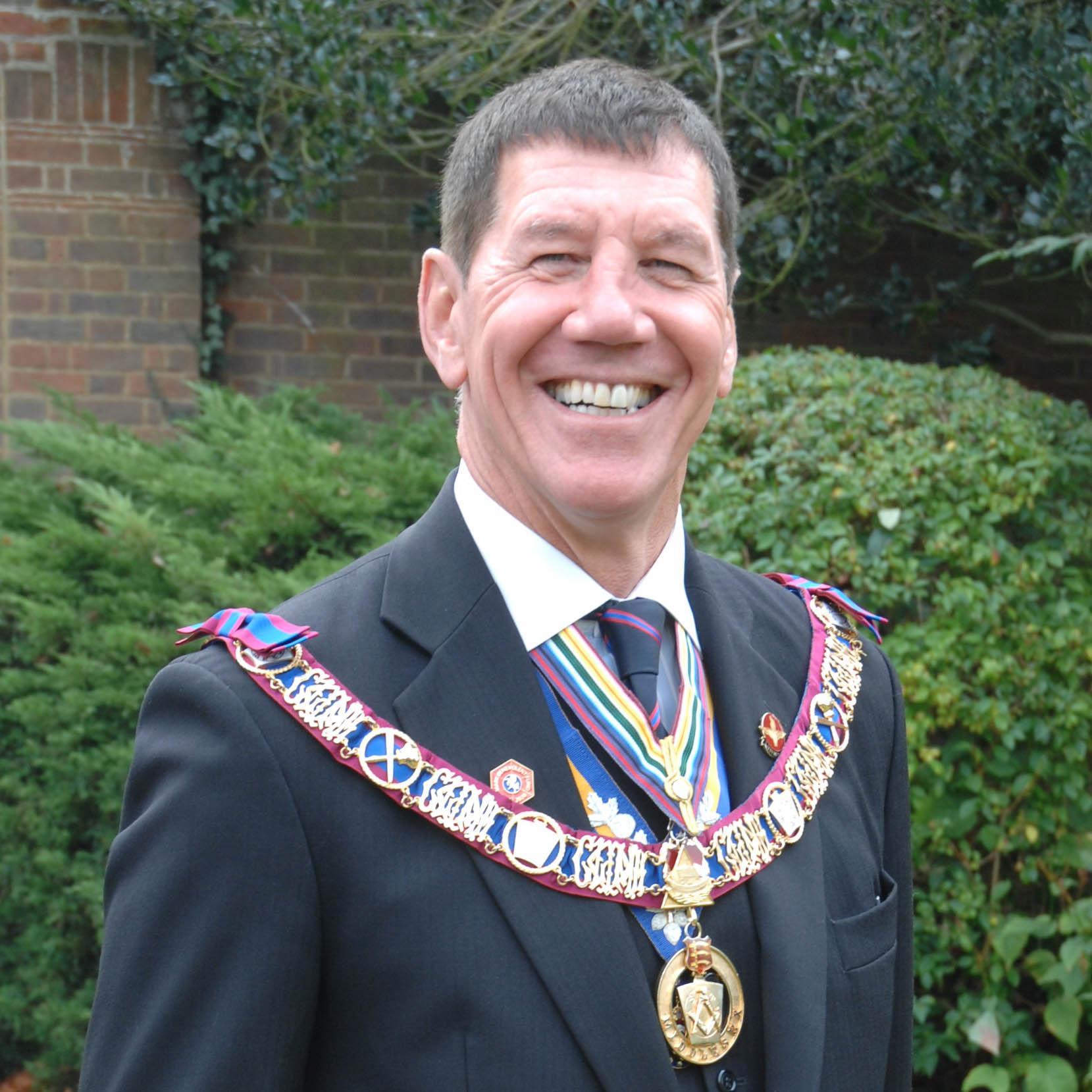 R.W.Bro Edward R. Garty Provincial Grand Master